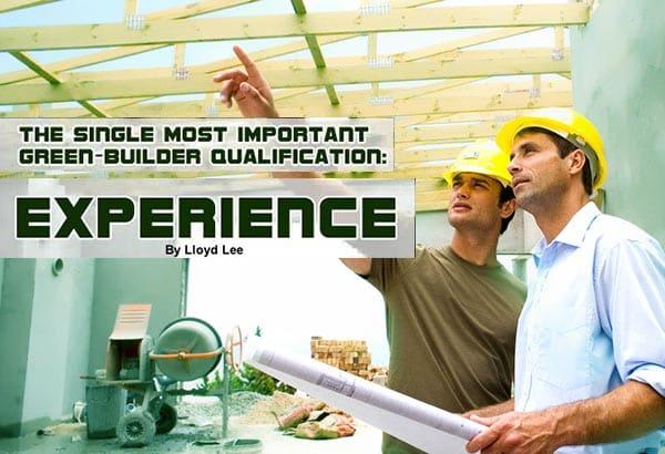 Green-Builder Qualification