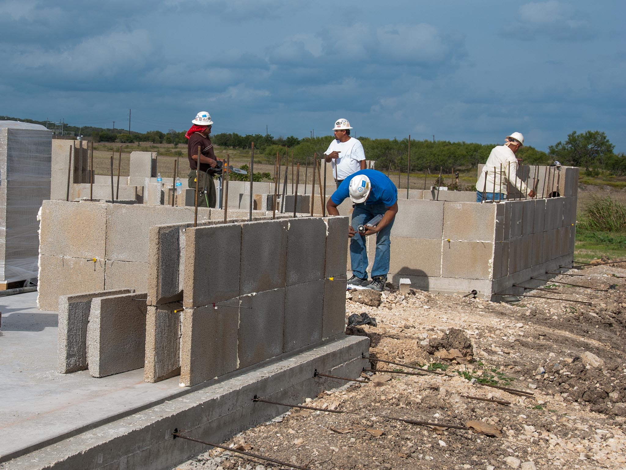 Insulating concrete forms by bautex systems for Icf texas