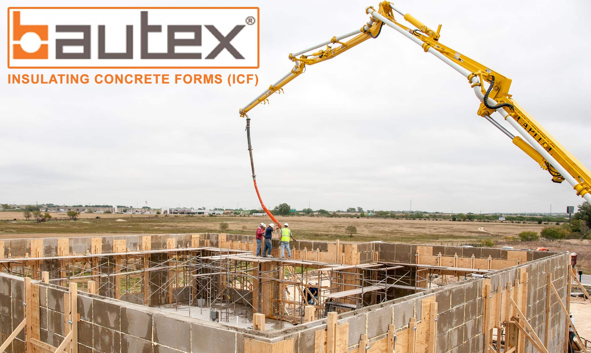 Build Your Home Insulating Concrete Forms By Bautex Systems