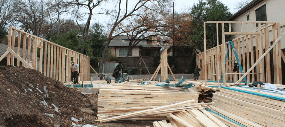 Net zero house the process of building continues for Netzero house