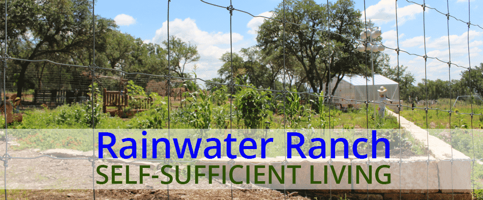 Self-Sufficient Living on Rainwater Ranch in The Hill Country