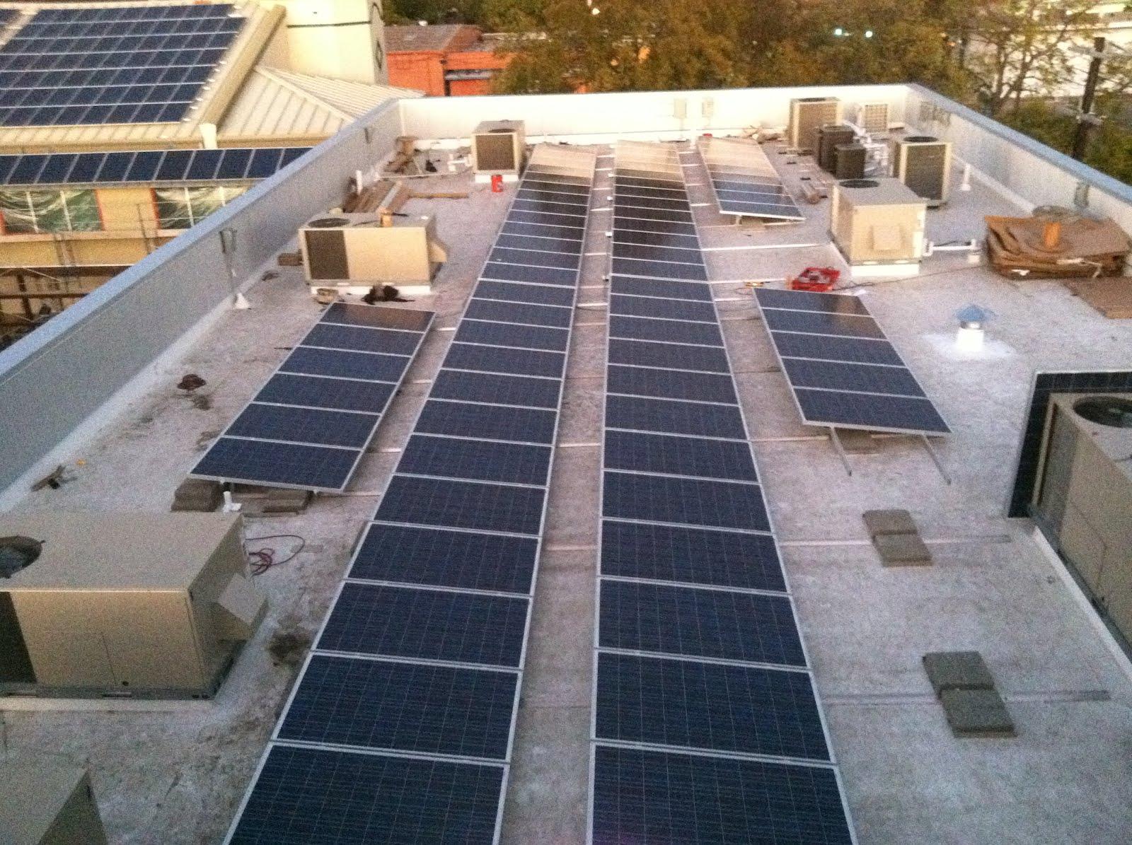 Camden Medical Center Commercial Solar Panels San