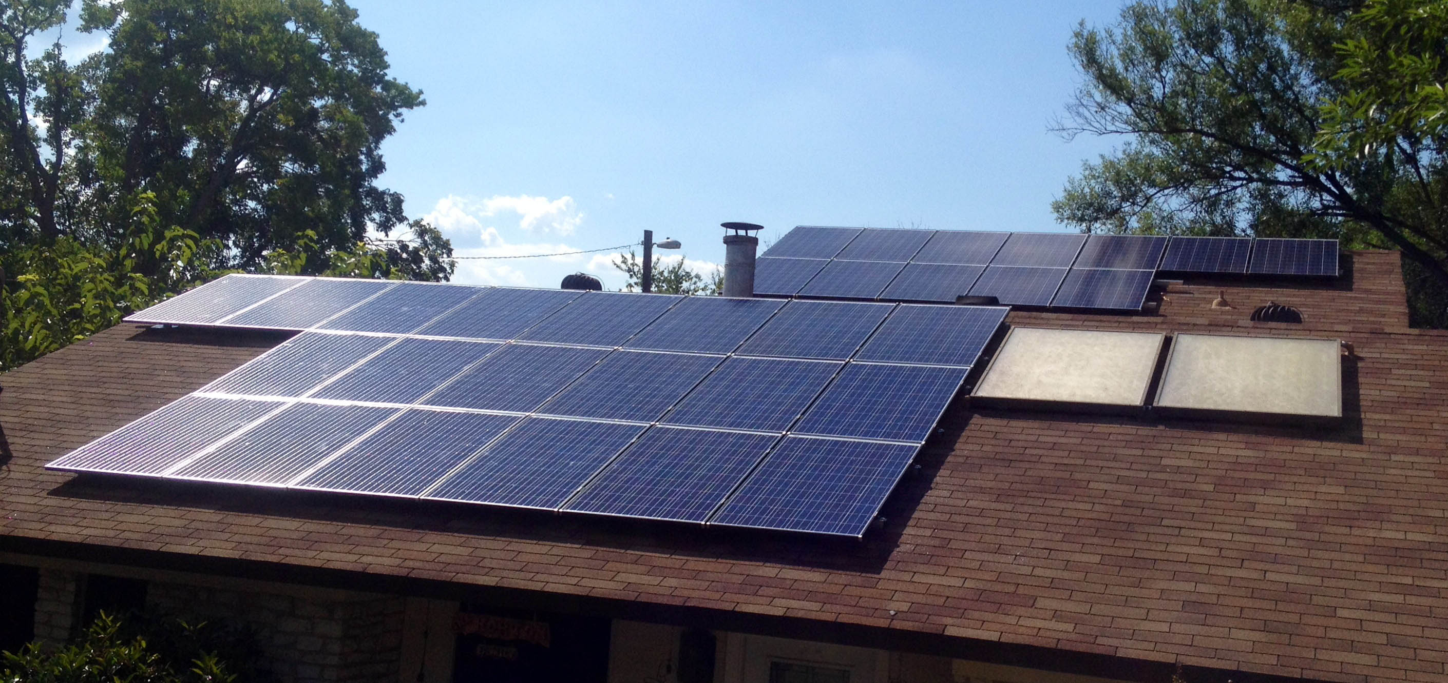 Turner Drive Austin Texas Solar Power System By Native