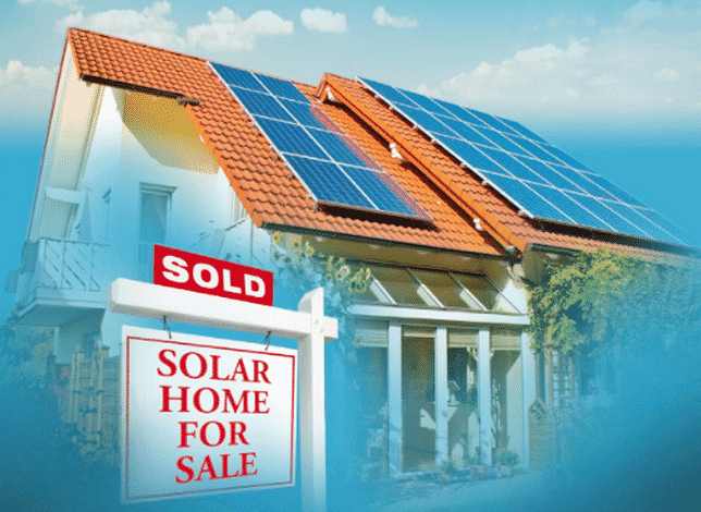 solar homes sell for more