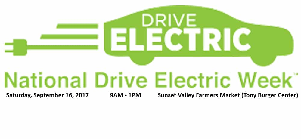 National Drive Electric Week Event - Austin