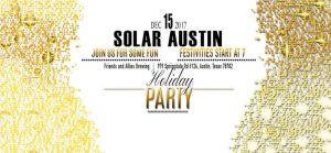 Solar Austin Holiday Party