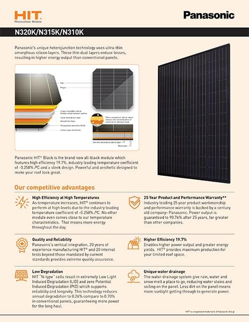 Panasonic solar