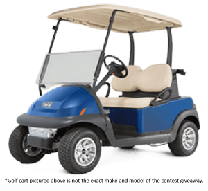 golf cart giveaway